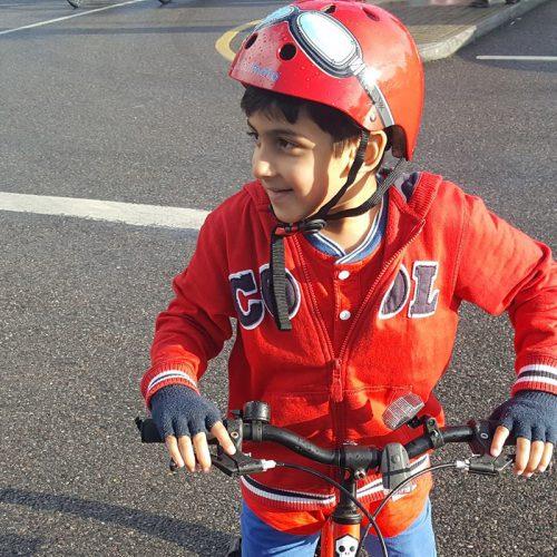 IKCA's Child Challenger Shines at TDS Bike Ride