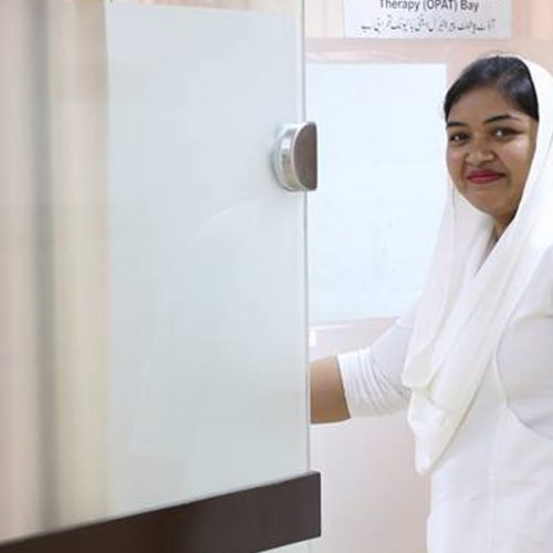 Meet Ammara, one of our Palliative Care Nurses at Shaukat Khanum Hospital