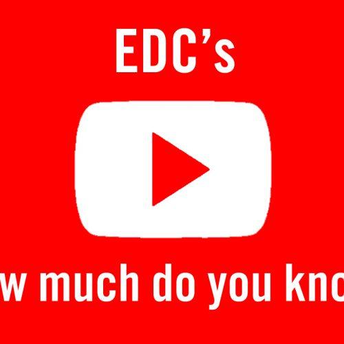 Say 'No' to EDCs