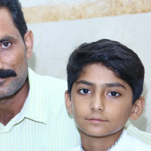 A Father's Fight for His Son's Life