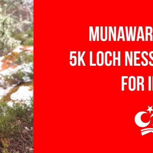 Munawar Ahmed's 5K Loch Ness Marathon for IKCA