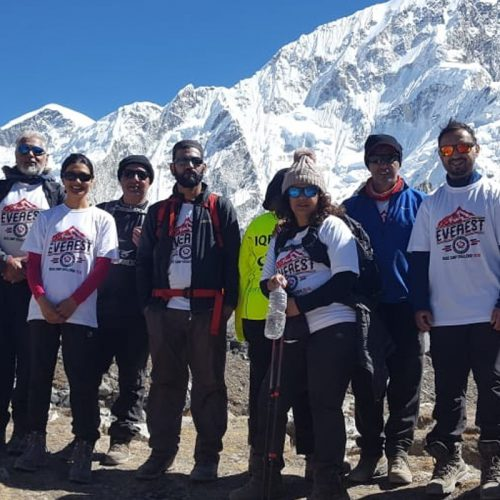 Team IKCA Reach Everest Base Camp