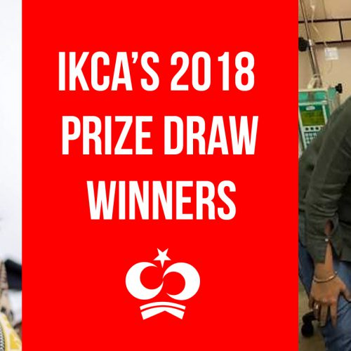 Meet IKCA's 2018 Prize Draw Winners, Wajiha Rafiq and Syma Shah